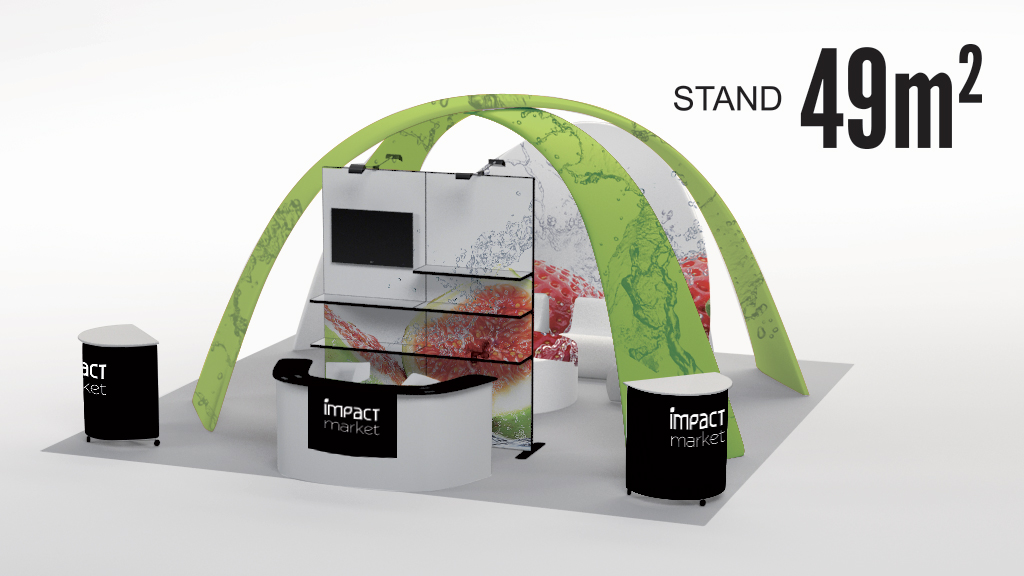 stand - rentabiliser son stand - attractif - personnalisable - plv